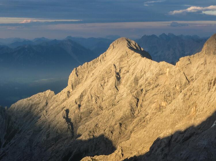 Gefuehrte Tour Zugspitze Nordwand Eisenzeit