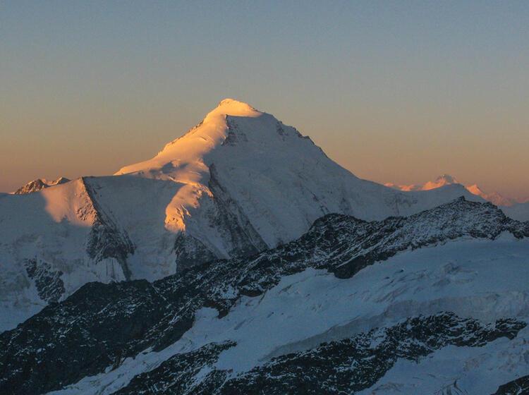 Gefuehrte Tour Zum Aletschhorn Mit Bergfuehrer