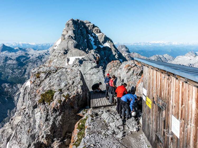 Gefuehrte Tour Zum Watzmann Gipfel Am Hocheck In Berchtesgaden