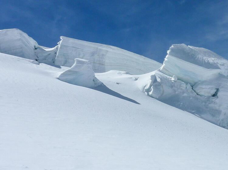 Gefuehrte Tour Zur Dufourspitze Von Der Monterosahuette Aus