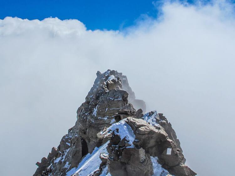Gefuehrte Touren In Der Schweiz An Der Dufourspitze
