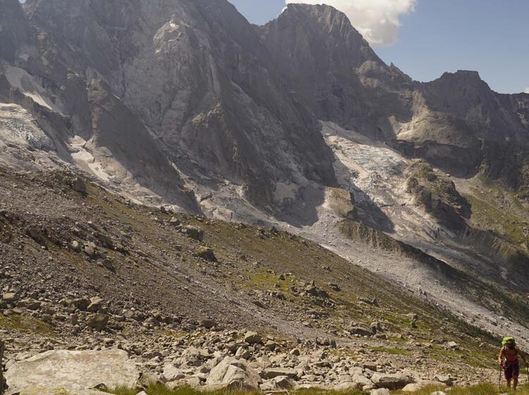Gefuehrte Wanderung Im Bergell