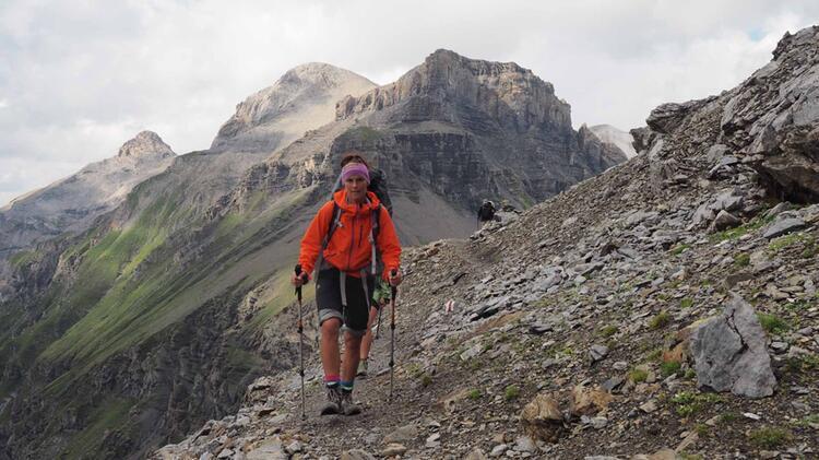 Gefuehrte Wanderungen In Den Dolomiten Mit Bergwanderfuehrer Karrie