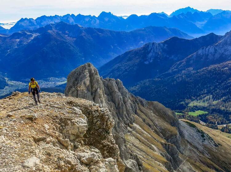 Gefuehrte Wanderwoche In Den Dolomiten Im Rosengarten
