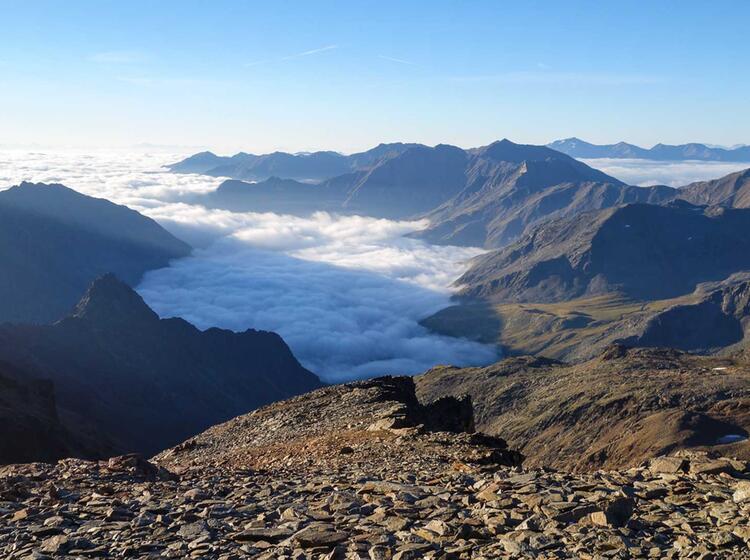 Gefuehrtes Bergwandern In Der Schweiz