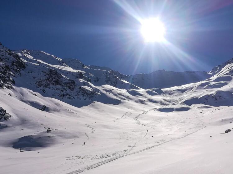 Gefuerte Skitouren Im Vinschgau Langtaufers