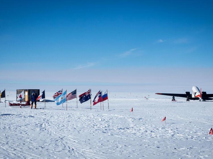 Geographischer Su Dpol Expedition Antarktis 1