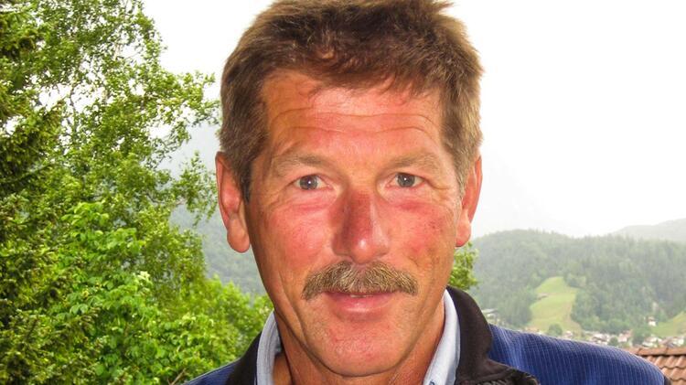 Georg Gruber Bergfuehrer In Garmisch Partenkirchen An Der Alpspitze