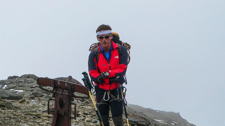 Georg Gruber Bergfuehrer Zugspitze Besteigung