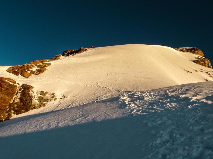 Gipfel Aufstieg Zur Jungfrau In Grindelwald