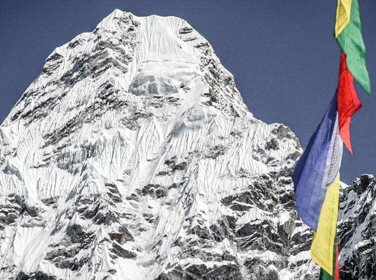 Gipfel Der Ama Dablam