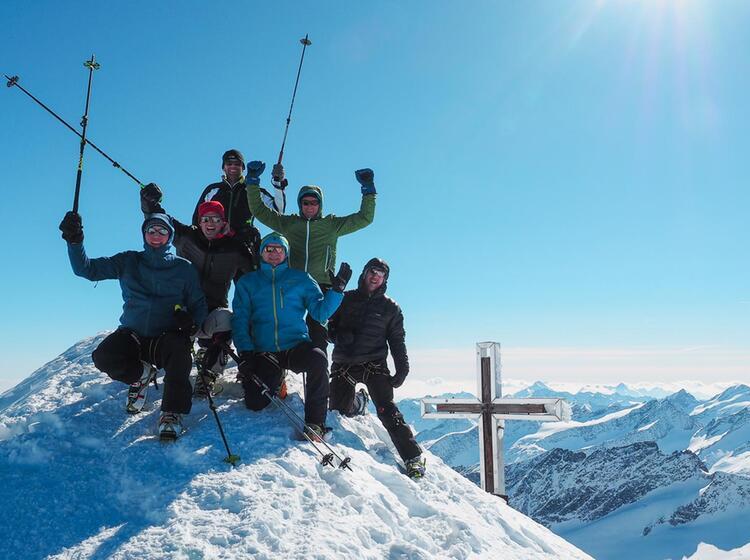 Gipfel Grossvenediger Hochtour