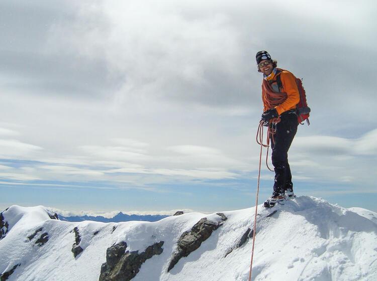 Gipfel Piz Bernina