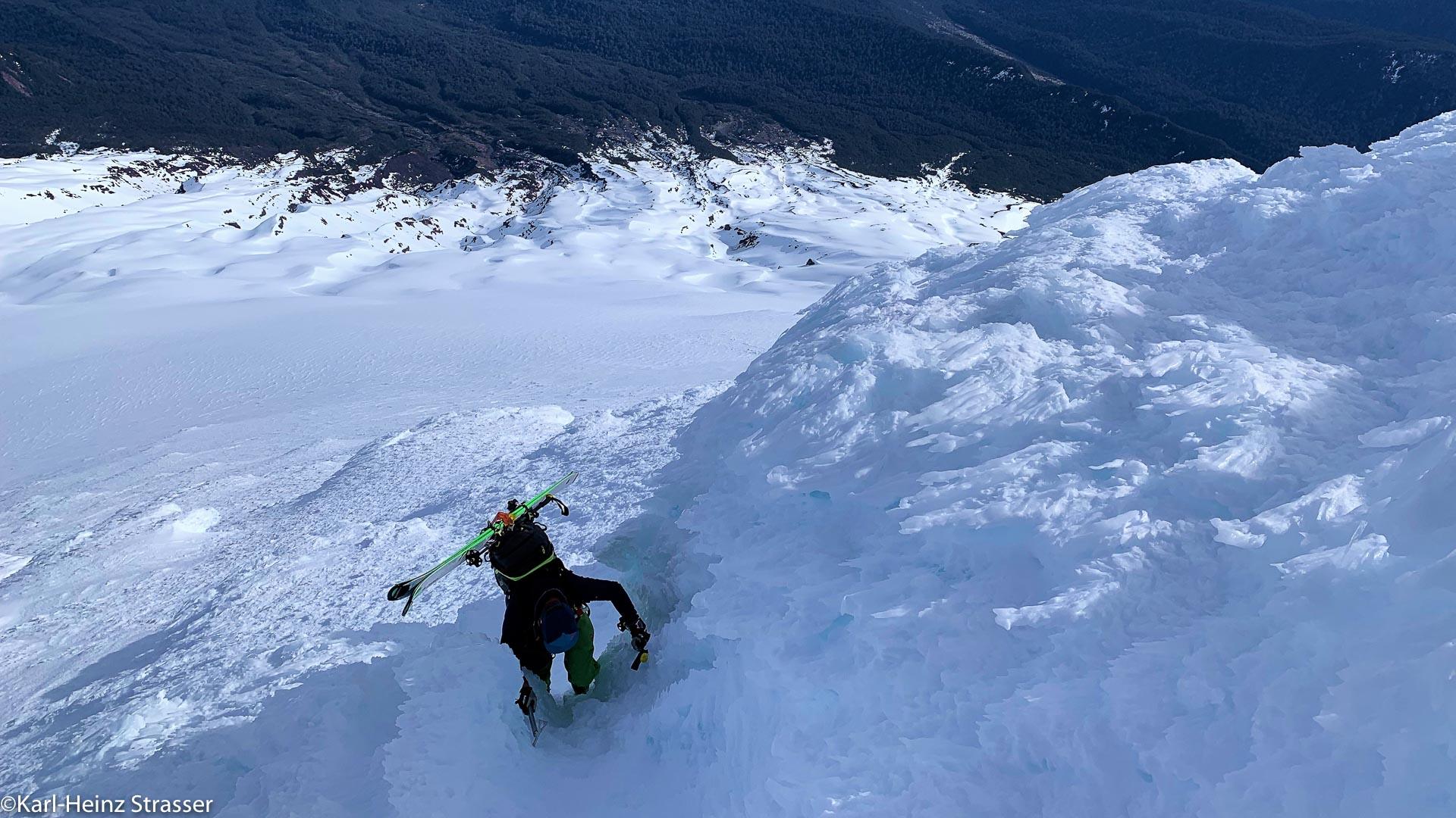 Im Aufstieg zum Gipfel