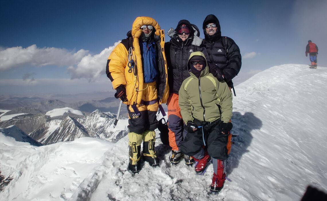 Gipfelfoto Himlung Himal Expedition