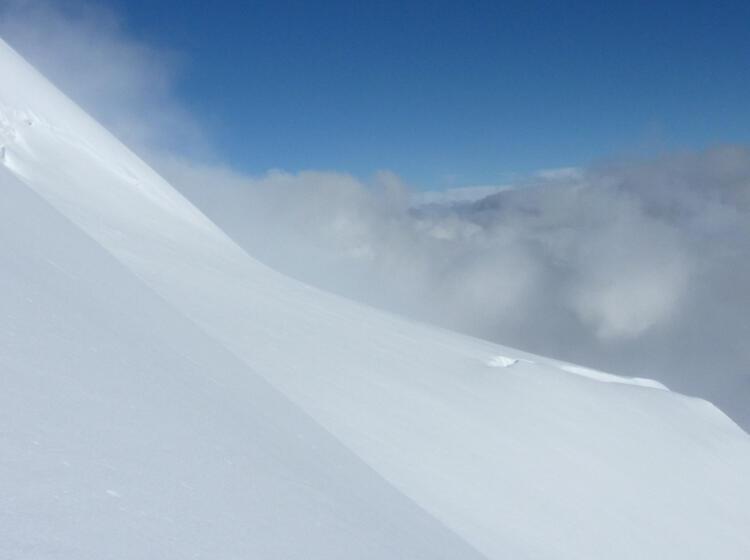 Gletscher Am Piz Palue In Der Bernina