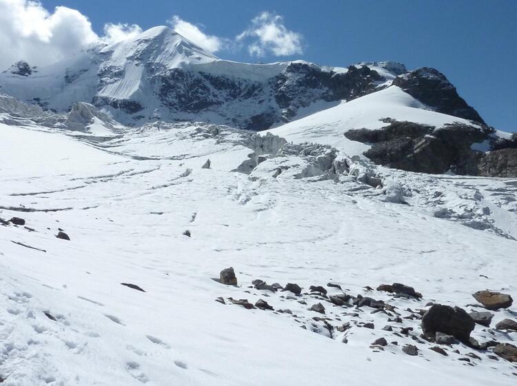 Gletscher Am Piz Palue