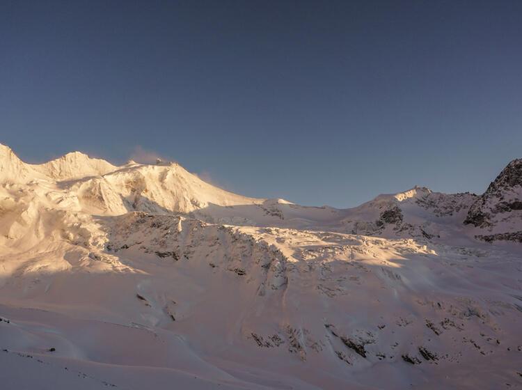 Gletscher Auf Der Tour Du Ciel Im Wallis Mit Der Alpinschule