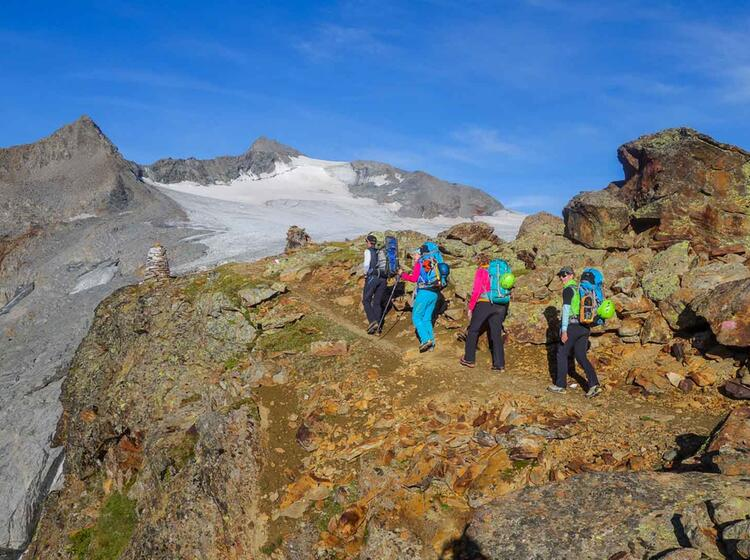 Gletscher Hochtour Similaun