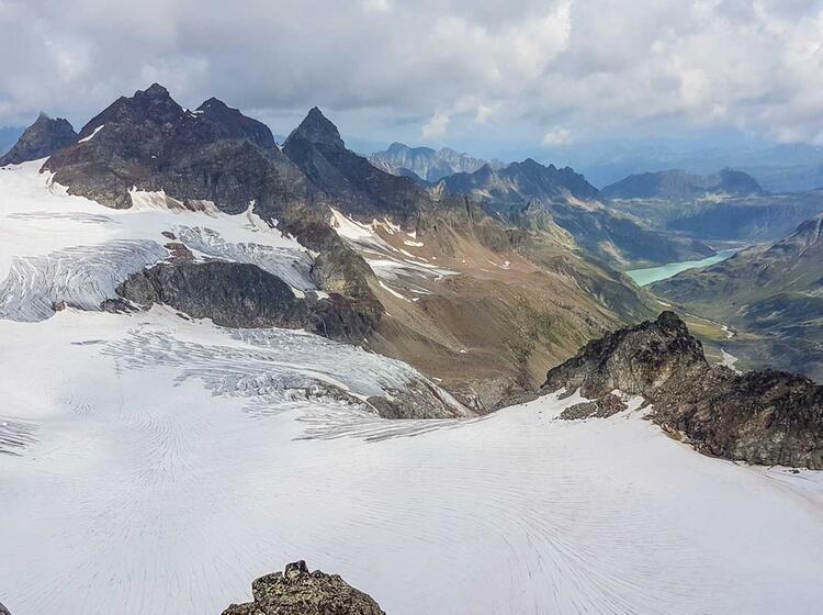 Gletscher Hochtourenkurs Mit Piz Buin