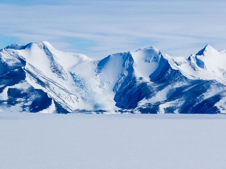 Gletscher In Der Antarktis