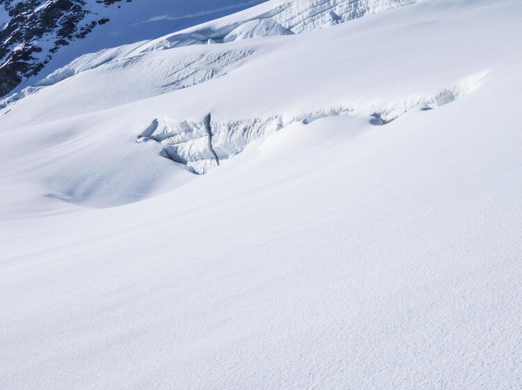 Gletscher Spalten Bergung Ueben Am Hochtouren Kurs
