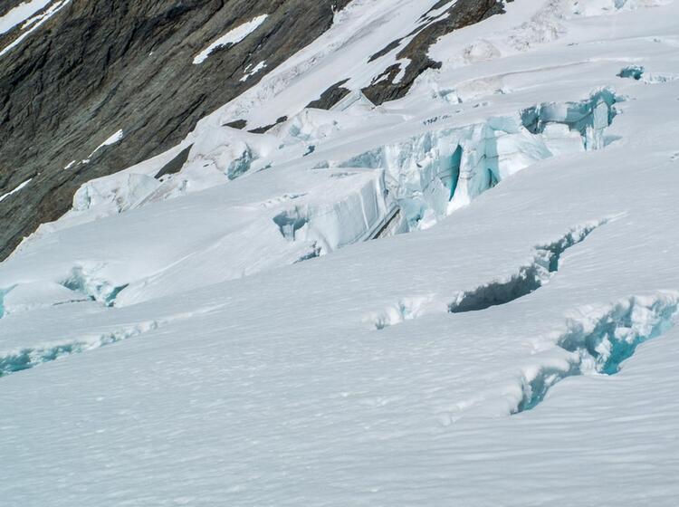 Gletscher Tour Ueber Den Aletsch Gletscher