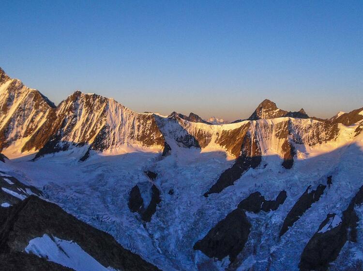 Gletscher Trekking Im Berner Oberland Vom Jungfraujoch