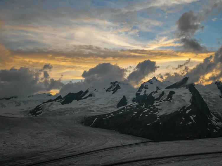 Gletscher Trekking In Der Schweiz