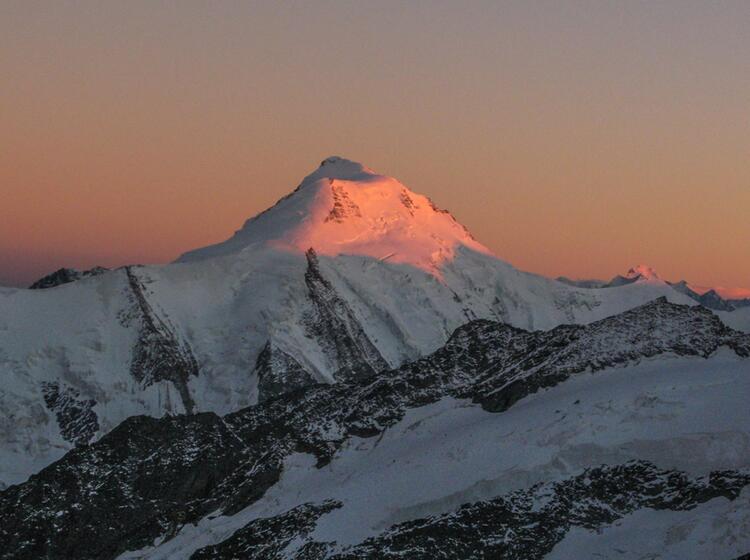 Gletscher Wandern In Der Schweiz