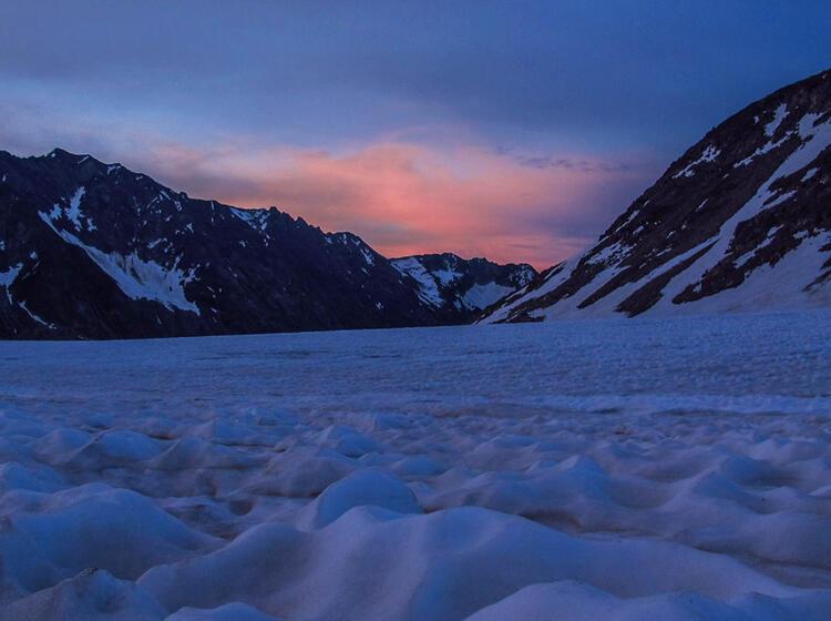 Gletscher Wanderung In Der Schweiz