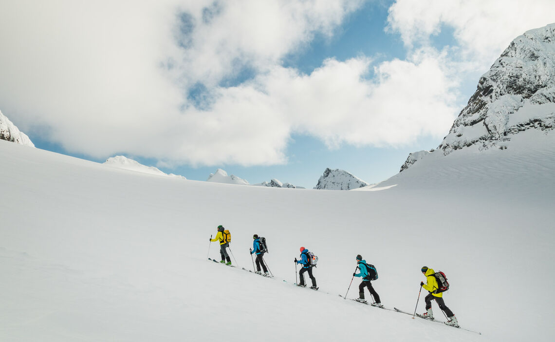 Gletscheranstieg Zum Tafeltinden