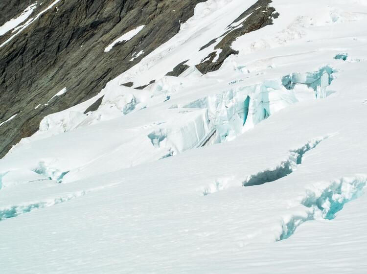 Gletscherbruch Am Ortler