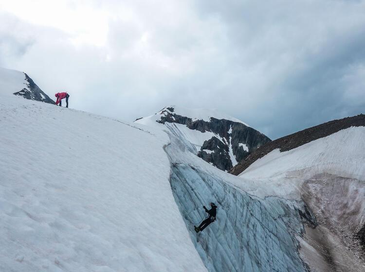 Gletscherkurs Aufbau