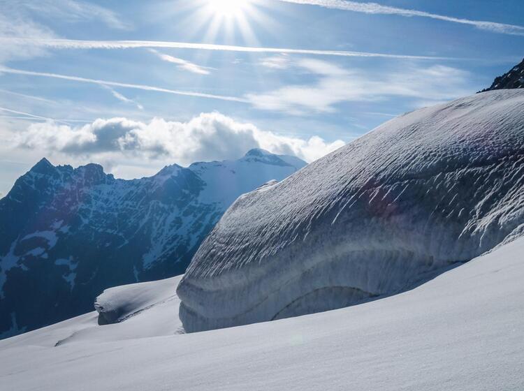 Gletscherkurs In Der Schweiz Am Sustenpass