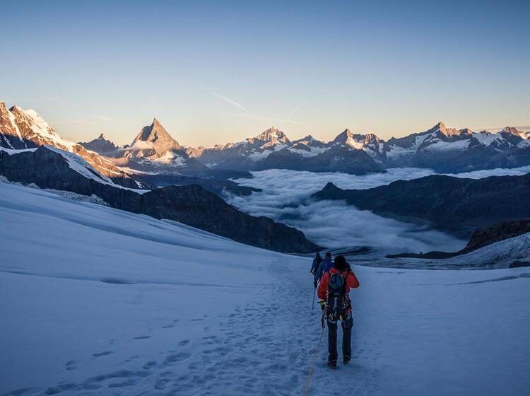 Gletschertour Im Wallis