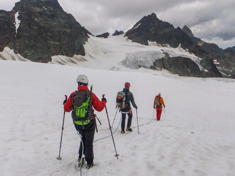 Gletschertour Piz Buin In Der Silvretta