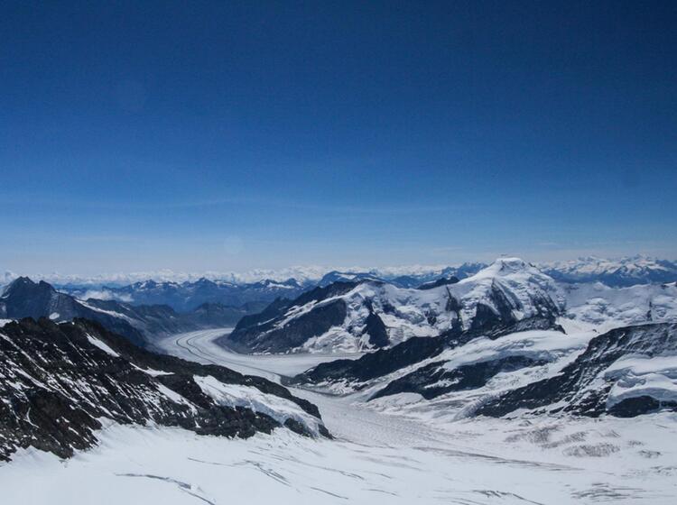 Gletschertrekking Vom Jungfraujoch