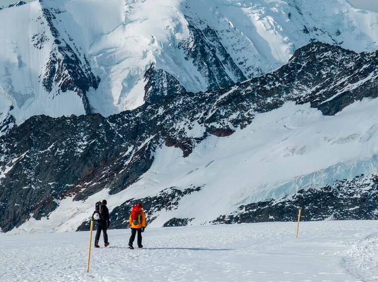Gletscherwanderung Ueber Den Aletsch Gletscher