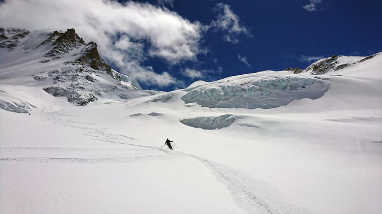 Gletscherwelt Am Gran Paradiso