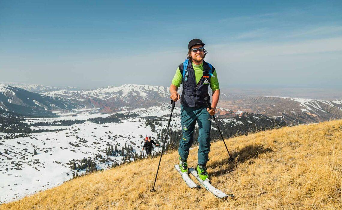 Gute Schneeverhaeltnisse In Kirgistan