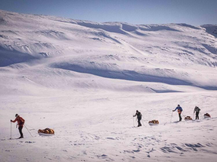 Hardangervidda Training Polarexpeditionen