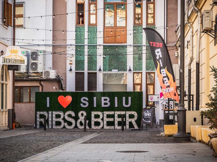 Hermannstadt Sibia Skitourenreise Rumaenien
