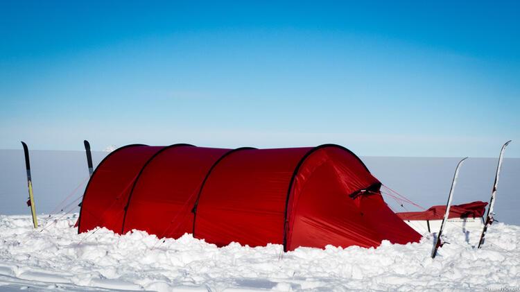 Hilleberg Zelt In Der Antarktis