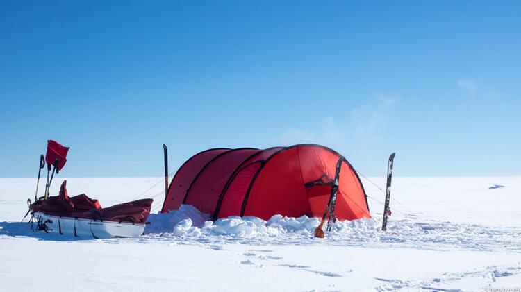 Hilleberg Zelt Und Acapulka In Der Antarktis