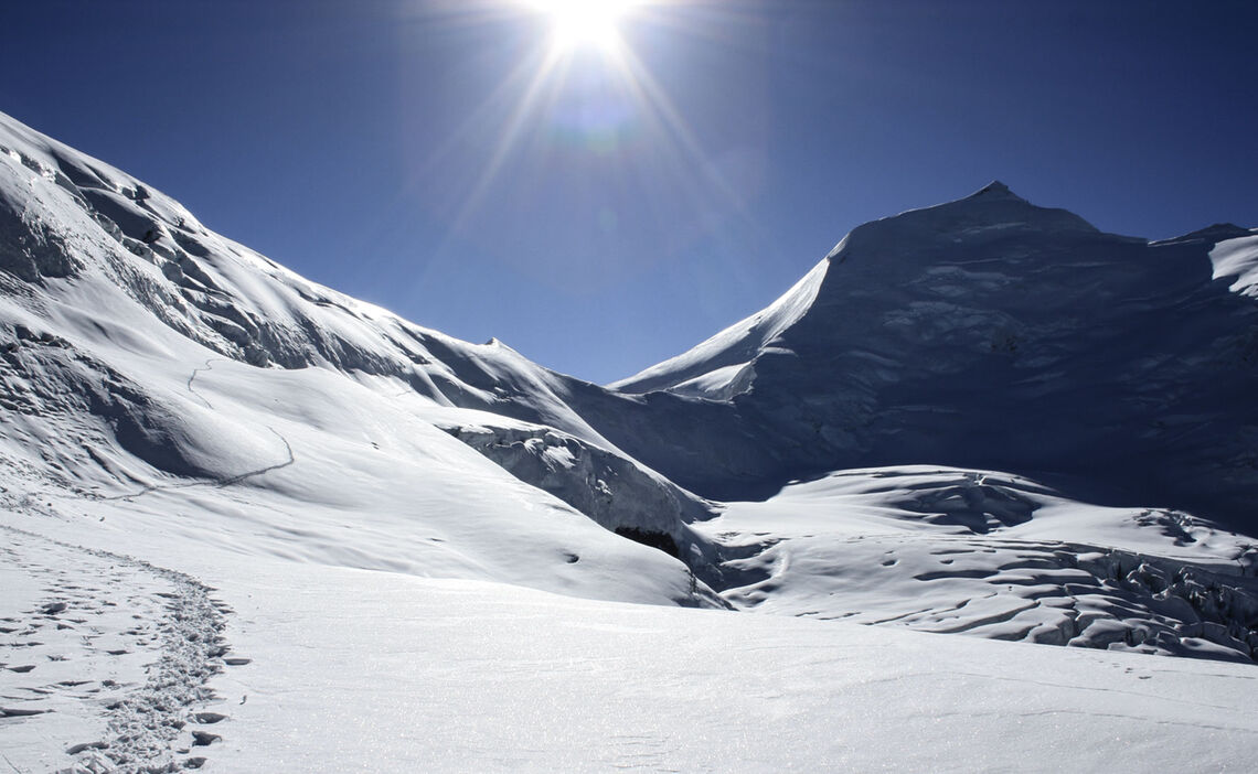 Himlung Himal Expedition Gipfelblicke