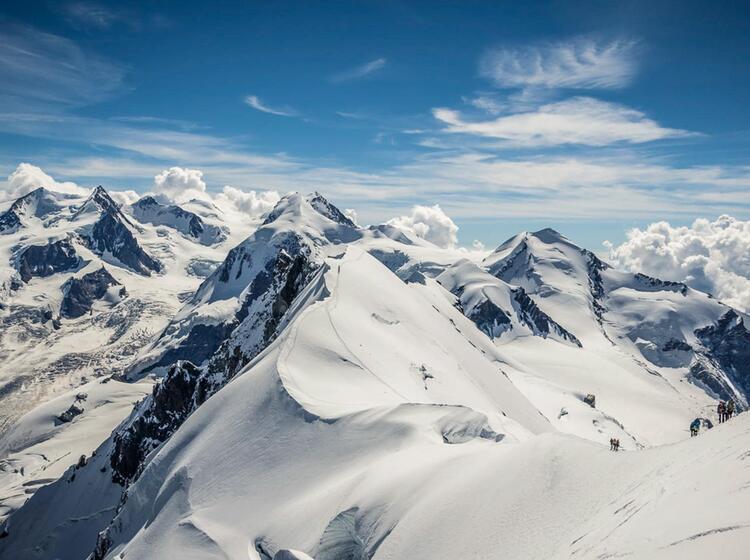 Hochtour Castor Pollux Und Breithorn In Zermatt Auf Der Spaghettirunde