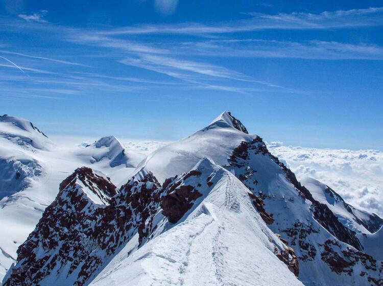 Hochtour Lyskamm Ueberschreitung Mit Der Alpinschule
