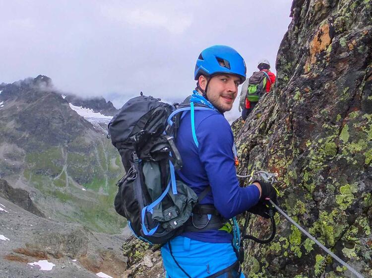 Hochtour Und Klettersteig An Der Jamtalhuette