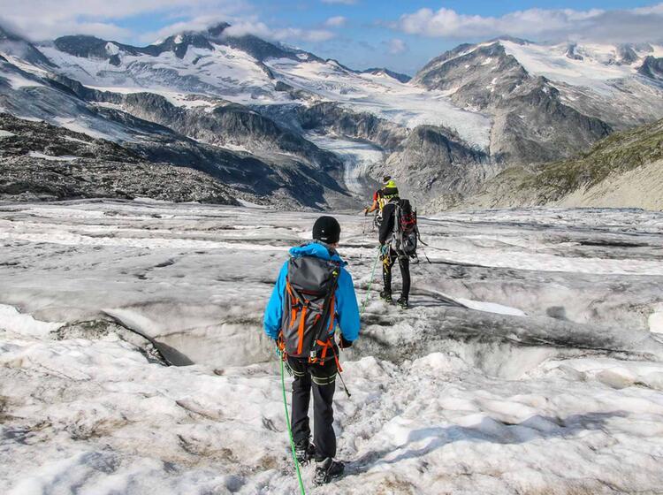 Hochtouren Anstieg Zum Grossvenediger Mit Bergfuehrer